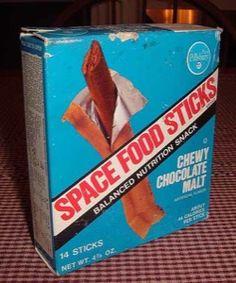 astronaut stick breakfast food 1970 - photo #18