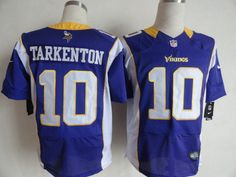 The NFL Minnesota Vikings Elite Jersey is the closest thing to the one your heroes are wearing on the field.