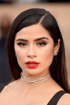 Hair and Makeup at SAG Awards 2017 | Red Carpet Pictures | POPSUGAR Beauty Photo 50...Diana Guerrero