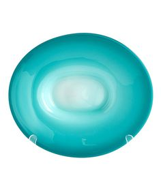 Aqua Dream Plate - Like a shimmering sphere of brilliant sea, the Aqua Dream Plate suffuses your tablescape with vivid beauty. The well-proportioned plate allows for generously serving your guests or for allowing them to feast their eyes on its distinctive beauty. A welcome addition to your transitional dining room, eclectic great room, or sun terrace.