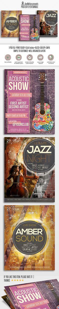 Flyer Bundle Vol.4 - Clubs & Parties Events