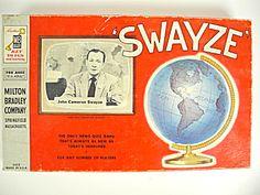 Vintage 1954 Swayze Game, John Cameron News Quiz Game
