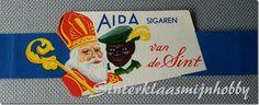 Etalage 'wikkel' sigarenmerk 'AIDA'