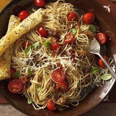 Caramelized Onion & Garlic Pasta Recipe
