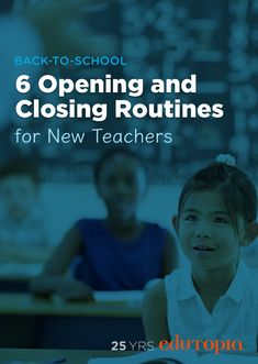 These opening and closing routines for new teachers are the perfect way to begin and end class. And don't forget to collaborate with other teachers!