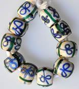 Trade Beads ( bow tie beads)