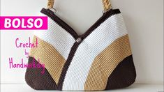AS A WEAVE BAG TO CROCHET FOR BEACH