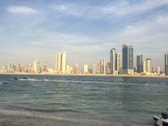 Skyline, Al Khan, Sharjah, UAE