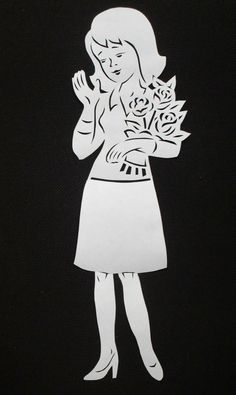 Kirigami, Scan And Cut, Silhouette, Paper Stars, Paper Gifts, Wood Carving, Paper Cutting, Kids Toys, Iphone Wallpaper
