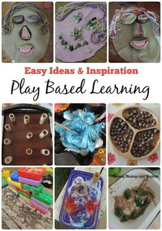 Ideas, Inspiration and Activities for fun play based learning - Easy and budget friendly! See more at Mummy Musings and Mayhem family fun activities Inquiry Based Learning, Project Based Learning, Early Learning, Preschool Activities, Kids Learning, Learning Stations, Motor Activities, Therapy Activities, Therapy Ideas