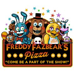 Freddy Fazbear's Pizza is another popular pizza restaurant chain owned by CyberBurger Restaurants. The CEO of this division of CyberBurger is Mr. Fazbach. CyberBurger founded it in 1979 with Jim Fazbach, a pizza oven repairman from Highland City, East Cybersland.