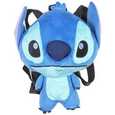 Disney Lilo Stitch Plush Backpack ($18) ❤ liked on Polyvore featuring bags, backpacks, knapsack bags, disney backpack, disney bag, military rucksack and backpacks bags