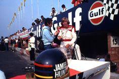 James Hunt McLaren M23 Watkins Glen 1977