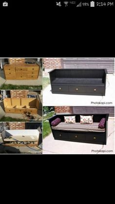 Burrow bench