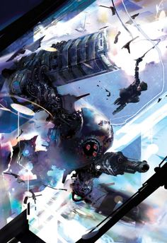 Killswitch (Book cover) Stephan Martiniere; Copyright ©Stephan Martiniere