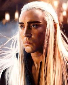 The Elvenking Thranduil   . . . . . . . . . .  #elvenking #elfking #thranduil  #sindar #sindari #silvan #silvanelf #silvanelves #mirkwood #greenleaf #elf #elves #thehobbit #desolationofsmaug #battleofthefivearmies #azog #middleearth #valinor #undyinglands #theundyinglands #arda #tolkien #jrrtolkien #tolkienjrr #lotrart