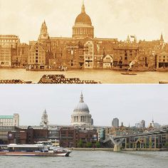 A new book, 'The Queens' London', makes a striking comparison of the city in the diamond Jubilee years of Victoria and Elizabeth II. London Now, Old London, London City, London Skyline, London Places, London History, British History, Asian History, Tudor History