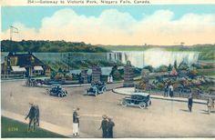 The gateway to Queen Victoria Park Niagara Falls