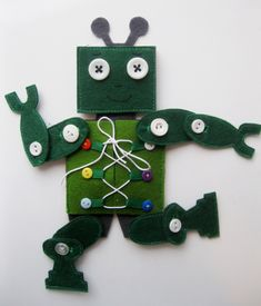 Button robot