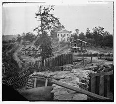 The Ponder's residence was used by Confederate sharpshooters during the Siege of Atlanta until it was destroyed by Union artillery. Today portions of the Georgia Tech campus overlay what once was a brutal battlefield.