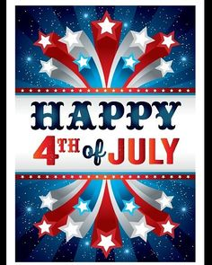 May the love for country dwell in our hearts. Wishing everybody a great 4th of Jluy!