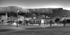 Cape Town Torists places Black and white photography