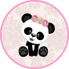 Panda Themed Party, Panda Party, Panda 3d, Panda Love, Panda Decorations, Banner Letters, Baby Shawer, String Art, Baby Shower Themes
