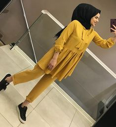 Modern Hijab Fashion, Modesty Fashion, Hijab Fashion Inspiration, Muslim Fashion, Hijab Style Dress, Casual Hijab Outfit, Hijab Chic, Pakistani Formal Dresses, Modele Hijab