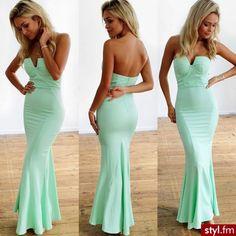 Beautiful dress. Pistachio
