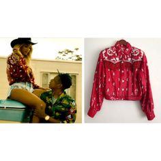 Vintage Red Bandana Fringe Beaded Jacket + Size Medium + by Gold Mine on Etsy, $449.45