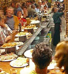 Read Rick's tips on eating well in Europe: http://www.ricksteves.com/plan/tips/eattip.htm
