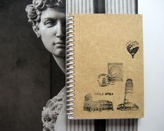 Italy Pocket Eco Notebook (4x6) by Ciaffi @Mariana E Paula Moreno