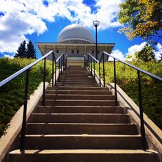 Stairway to heaven (or the Detroit observatory, we're not sure which.)