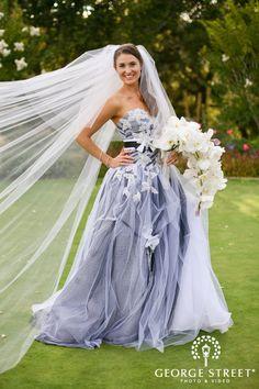 Non-white wedding dresses | AMARE | Pinterest | Wedding, Dresses ...