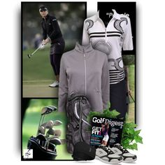 """""""Get Fit - play Golf - Lori's Golf Shoppe"""" by christiana40 on Polyvore"""