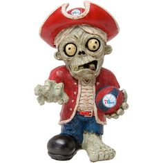 Philadelphia 76ers Thematic Zombie Figurine Gnome