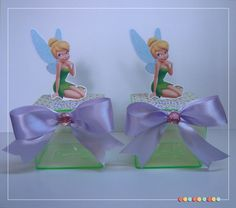 Caixa de Acrílico Tinker Bell
