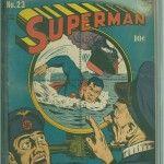 Superman #23 Comic Book CGC 6.5