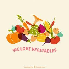 Nós amamos vegetais