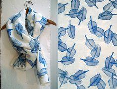 Lino print // sash