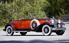 1931 Packard 845 DeLuxe Eight Convertible Roadster - (Packard Motor Car Company Detroit, Michigan 1899-1958)