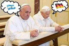 Germany Or Argentina? I'm Just Praying For An Exciting Game! #WorldCup #WorldCupFinal #Football #Futbol #Soccer #Germany #Argentina #GERMANYvsARGENTINA #ARGENTINAvsGERMANY #PopeFrancis #PopeBenedictXVI #BenedictXVI #Francis #WorldCup2014