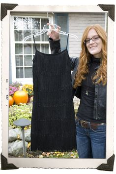diy flapper dress- contemplating Halloween next year
