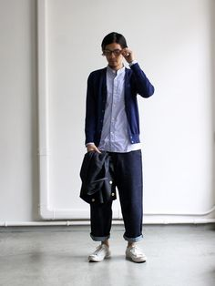 nanamica THERMOLITE® Cardigan 商品詳細 Strato