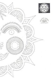 :-) Paper Art, Paper Crafts, Sun Art, Scan And Cut, Easter Holidays, All Craft, Kirigami, Paper Cutting, Folk Art