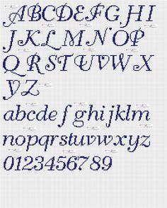266 Fantastiche Immagini Su Punto Croce Alfabeti Cross Stitch