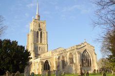 The historic and stunning St Mary's Church Ashwell.