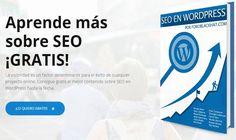 SEO en WordPress es el título de un eBook gratuito (PDF), compuesto por más de 270 páginas, repleto de consejos y trucos para trabajar el SEO en WordPress.