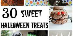 30 SWEEEET Halloween treats