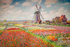 Claude Monet - Fields of Tulips in Holland, 1886